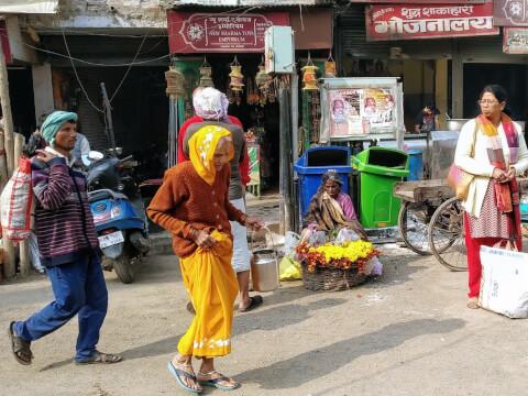 バラナシ 観光 インド ガンガー