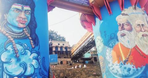 バラナシ ガンガー インド