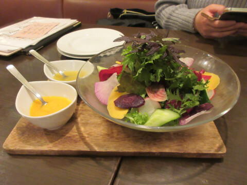 ブラッスリー雪乃下 鎌倉野菜のガーデンサラダ