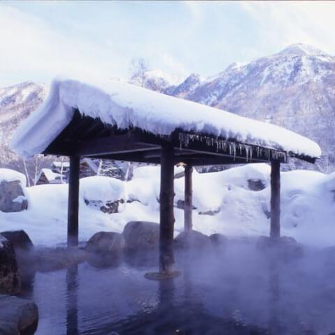 岡田旅館露天風呂
