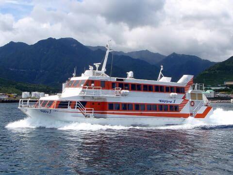 屋久島 高速船
