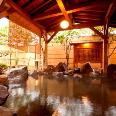 清流荘 露天風呂