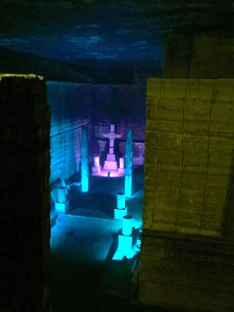 大谷石採石場