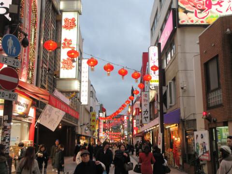 中華街 風景