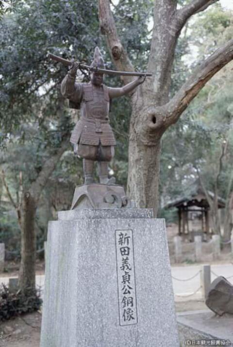 新田荘遺跡 生品神社 義貞公