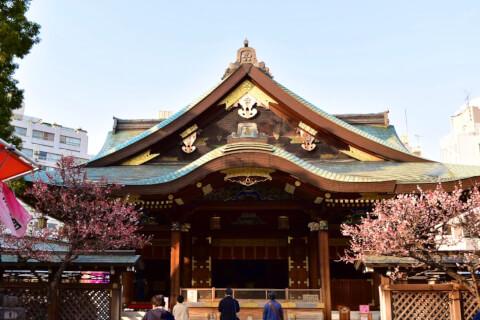 湯島天満宮-拝殿