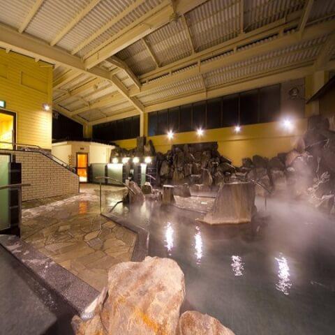 ユウベルホテル露天風呂