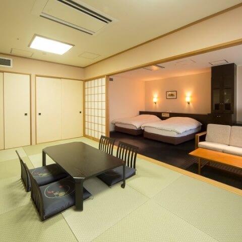 ユウベルホテル客室