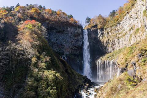 日本 絶景 栃木 華厳の滝