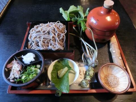 禅風亭なゝ番の禅寺蕎麦