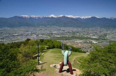 安曇野 長峰山