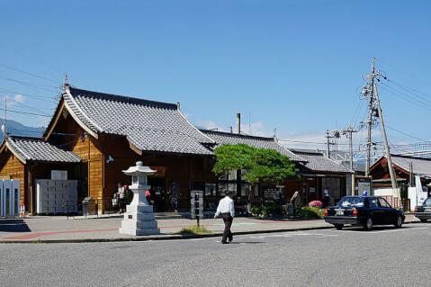 安曇野 穂高駅