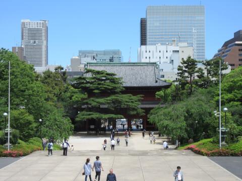 増上寺 外観