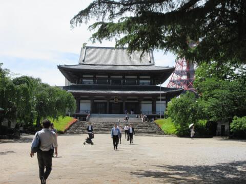 増上寺 境内