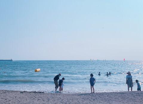 逗子海岸 観光 ビーチ 砂浜