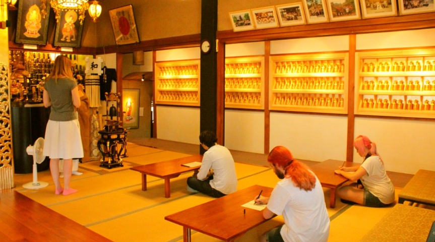 【千葉県市川市】650年の歴史ある神社で、写経や絵馬を体験!