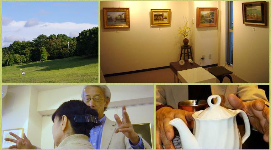 【千葉・津田沼】静かな落ち着いた空間で癒やされよう!画廊で「気功」のヒーリング体験!