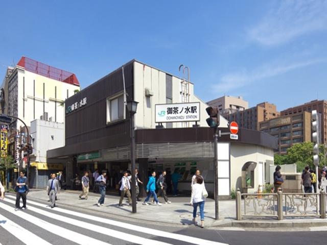 御茶ノ水駅・聖橋の改札口