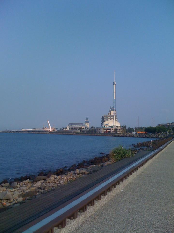 淡水觀海長堤