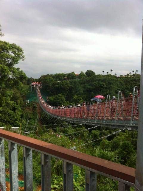 猴探井 天空之橋
