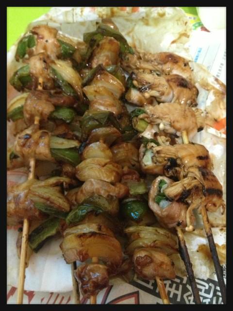 雞頭烤肉鹹酥雞