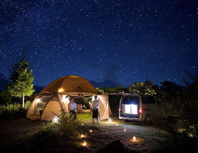 信州の自然を五感で感じる「乗鞍 星と月のレストラン」