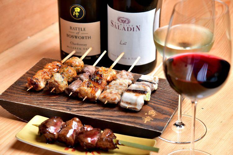 東京都・恵比寿『鳥幸 WINE PAIRING』/焼鳥とワインのペアリングを学ぶ