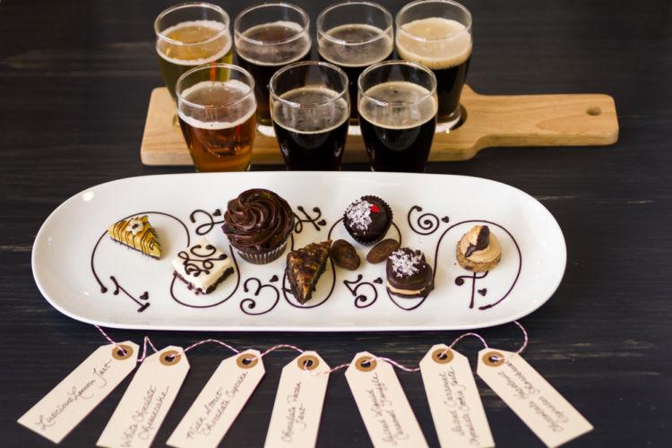 ビールとケーキのマッチングを考える