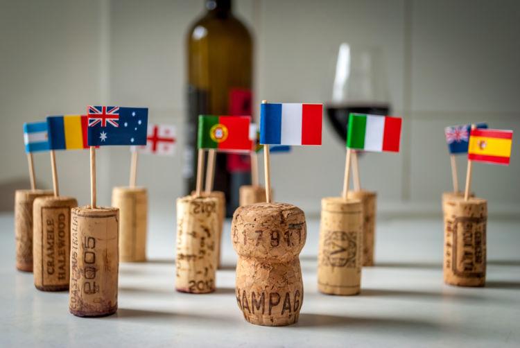 ワインは国ごとに異なる特徴が! ワインと原産国の関係とは?