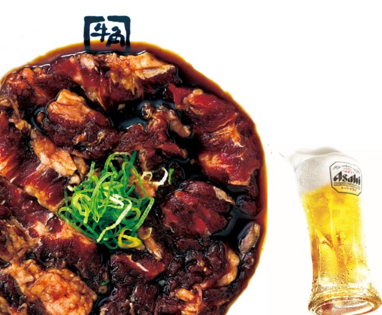 「呑んべえ好み」のタレで味わうビール専用カルビほか、ビールを際立たせるメニューが「牛角」に登場!
