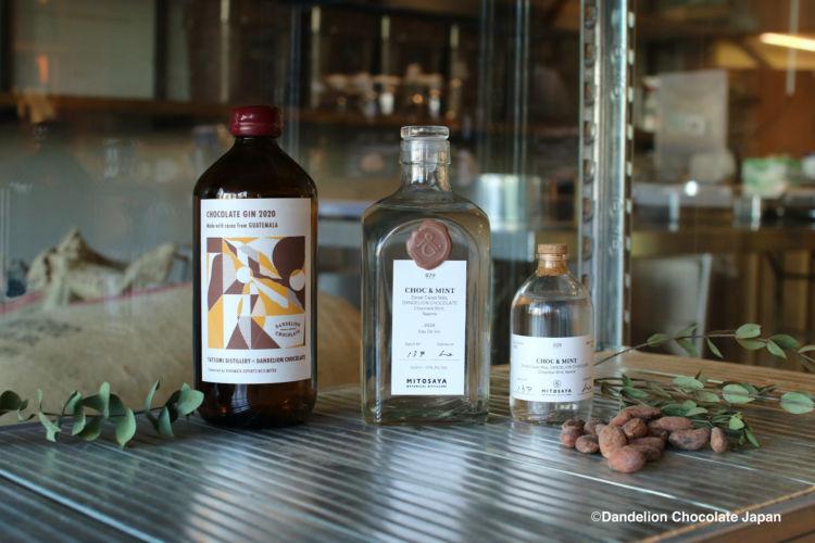 「ダンデライオン・チョコレート」が、日本の個性的な2つの蒸留所とコラボレーション!