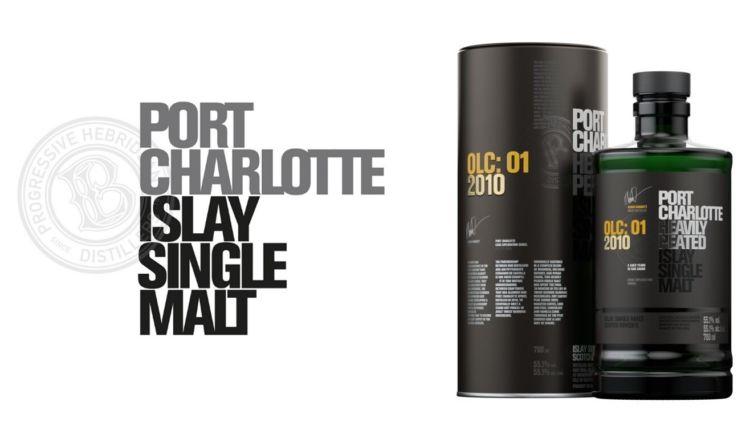 スコッチウイスキー「ポートシャーロット」より、シェリー樽熟成の新商品「OLC:01 2010」登場!