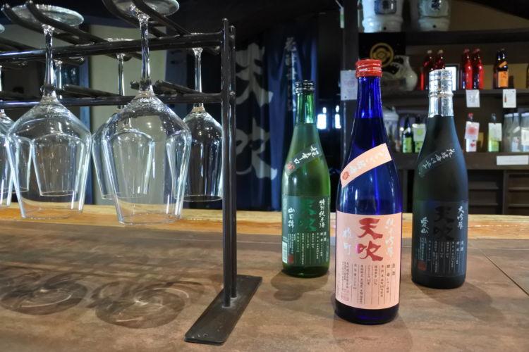 佐賀の日本酒【天吹(あまぶき):天吹酒造】「花酵母」によって醸される香り豊かな酒