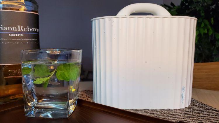 BARのような透明な氷が自宅でできる!アイスメーカー「ジュエルアイス」がMEDIKから登場
