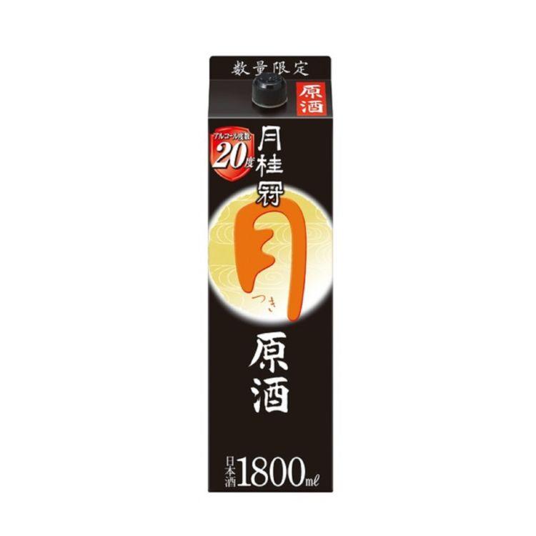 月桂冠がアルコール度数20度の濃厚な味わいで好評を博した「つき原酒」を期間限定で再発売
