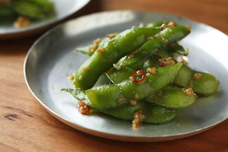 いつもの枝豆にちょい足しでグレードアップ! 枝豆ペペロンチーノ