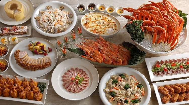 シェラトン都ホテル大阪が贈る海老と蟹の饗宴