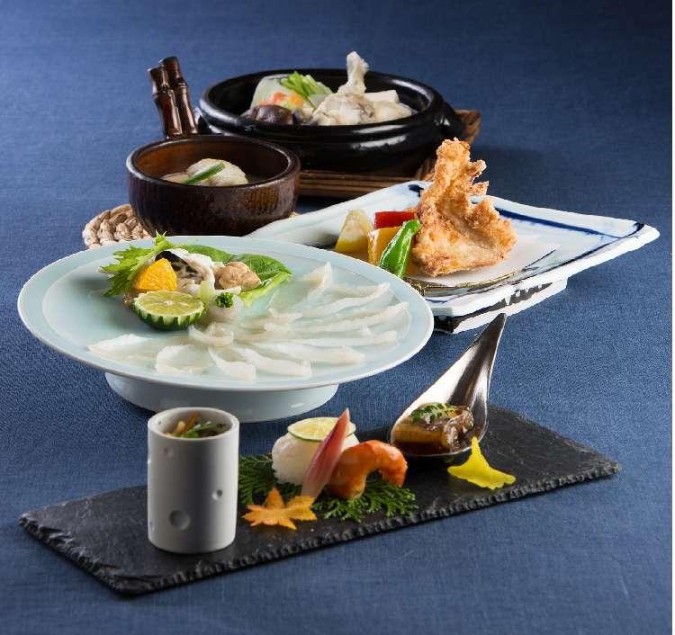 リーガロイヤルホテル東京で旬のふぐを存分に味わう