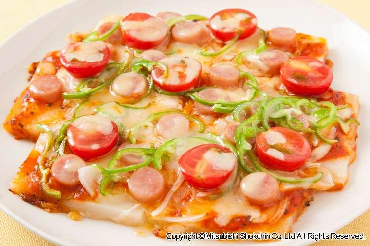 フライパン一つでできるお手軽 「おもちピザ」