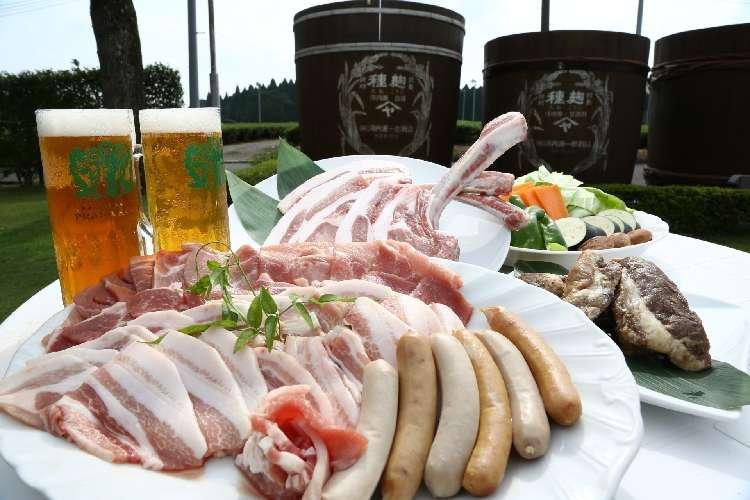 黒麹豚とクラフトビールで手ぶらバーベキュー!