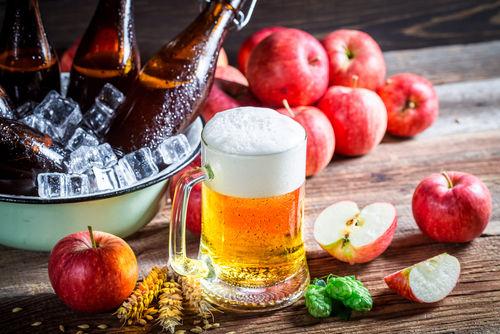 ビールとリンゴのおいしい関係!