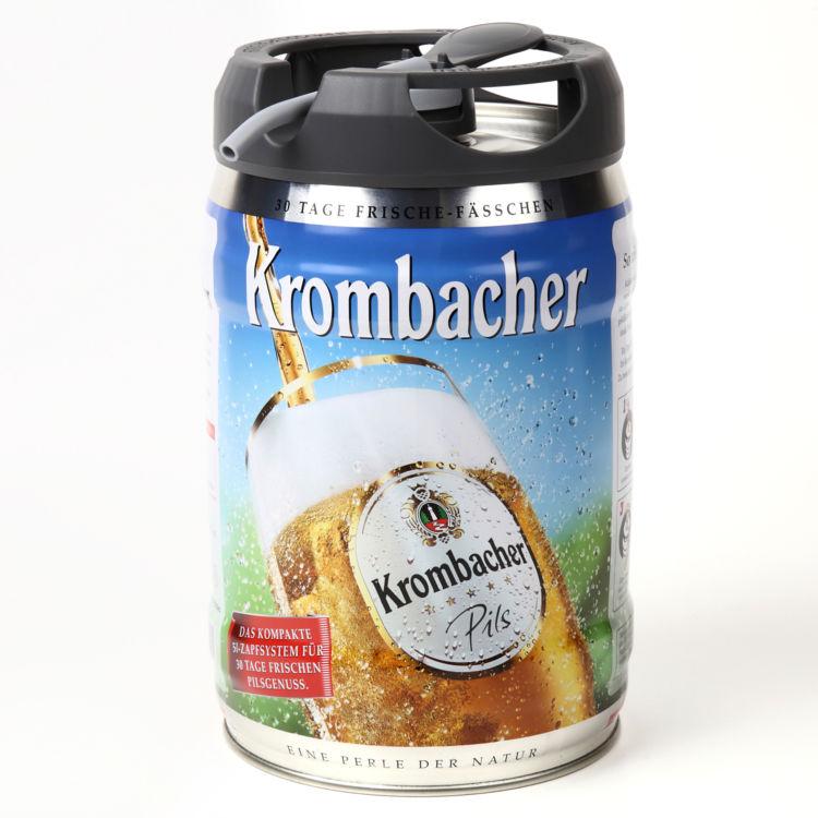 ドイツ直輸入の本場のプレミアムピルスナーをビッグな樽生で!