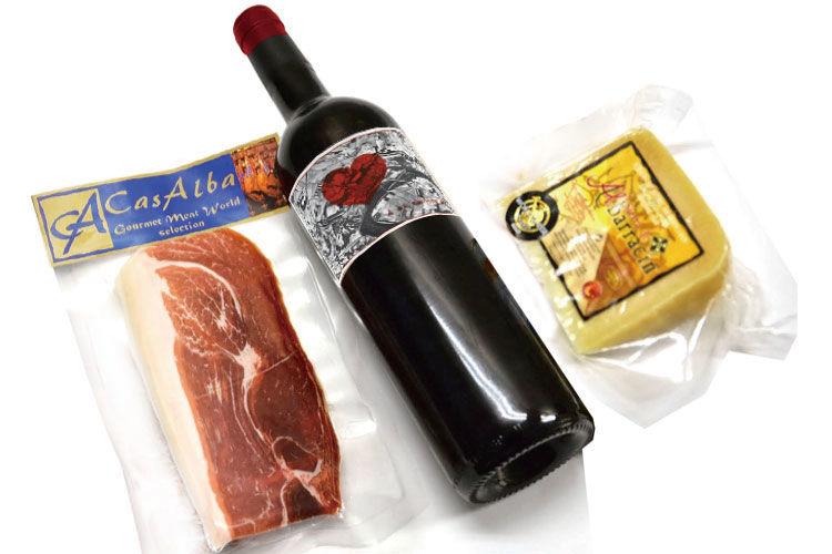 生ハム、チーズ、ワイン…スペインの厳選された食材がお得な 「マリアージュセット」