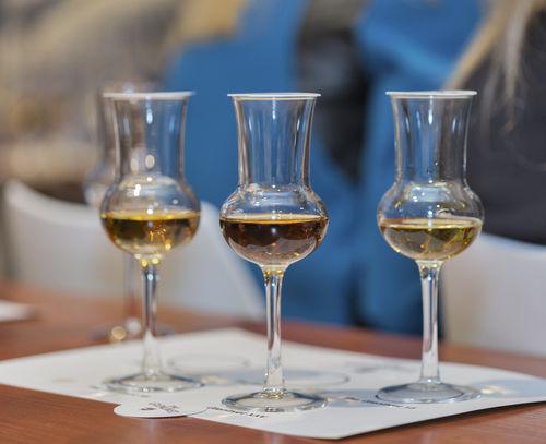 ウイスキーのテイスティンググラスを使ってみる