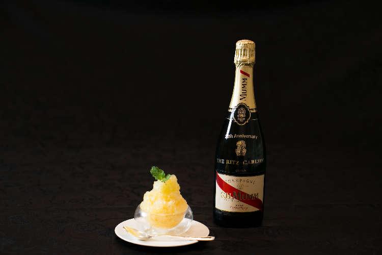 ザ・リッツ・カールトン大阪でシャンパンかき氷!?