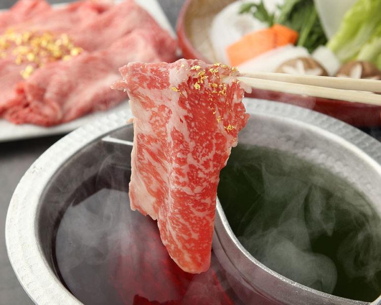 ワイン鍋や日本酒・獺祭鍋! 出汁を選べる高級神戸牛しゃぶしゃぶ