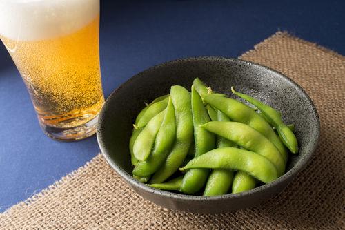 ビールのおつまみの定番「枝豆」は、実はとっても栄養があるのです!