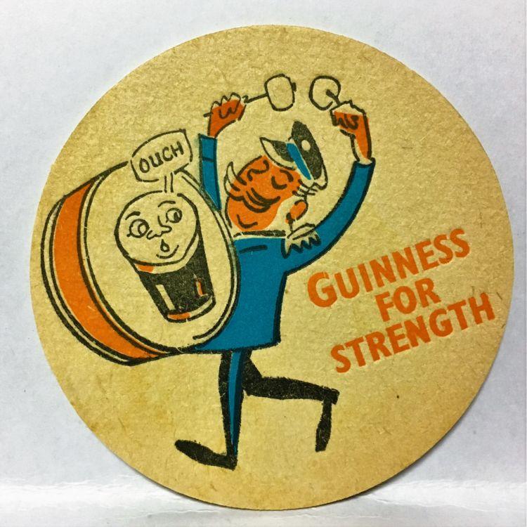 家飲みがアイリッシュパブの雰囲気に!? 「ギネスビール ビンテージコースター」