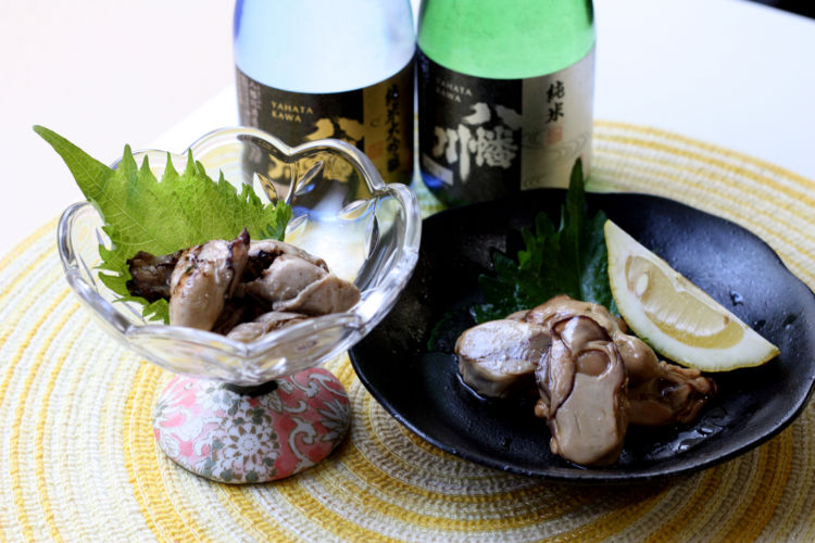 広島発、牡蠣と日本酒の食べ&飲み比べセット