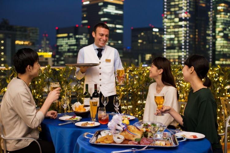 東京駅一望のロケーションでお酒をたのしむ! 「アーバンビアテラス」がオープン